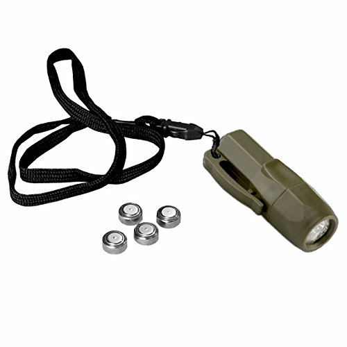 100.000 Stunden Mini Taschenlampe Survival Camping LED Lampe Notfall Kinder Army Bundeswehr Prepper Klein Bear Licht Tactical EDC Every Day Carry #18628