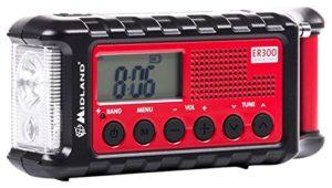 Radio, Taschenlampe, Powerbank. Batterie, Solar und Kurbelbetrieben